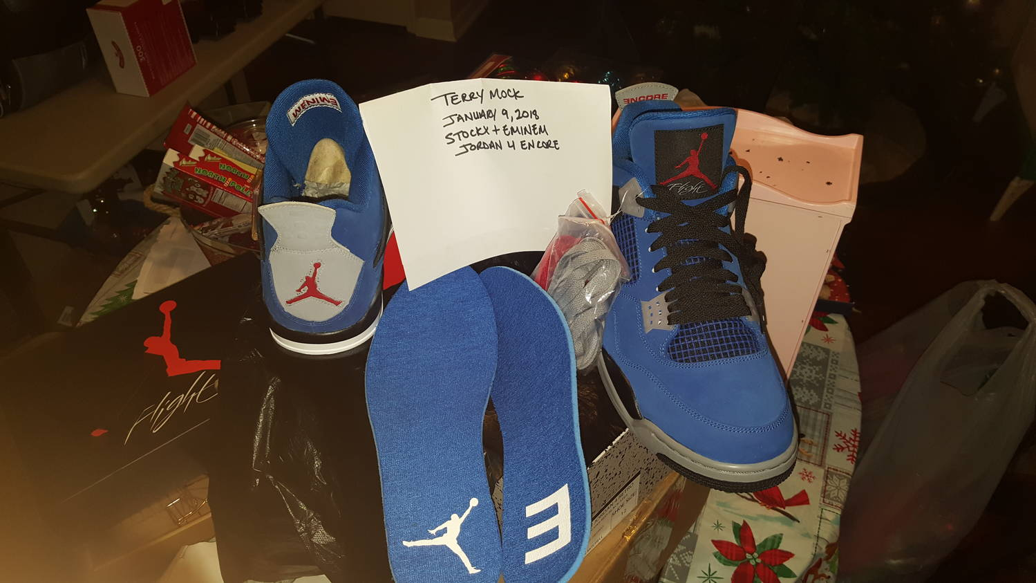3ac5a8a5e0ad04 There s something about knowing that outside of Eminems entourage the only  people who have these shoes is myself and the legendary Michael Jordan.