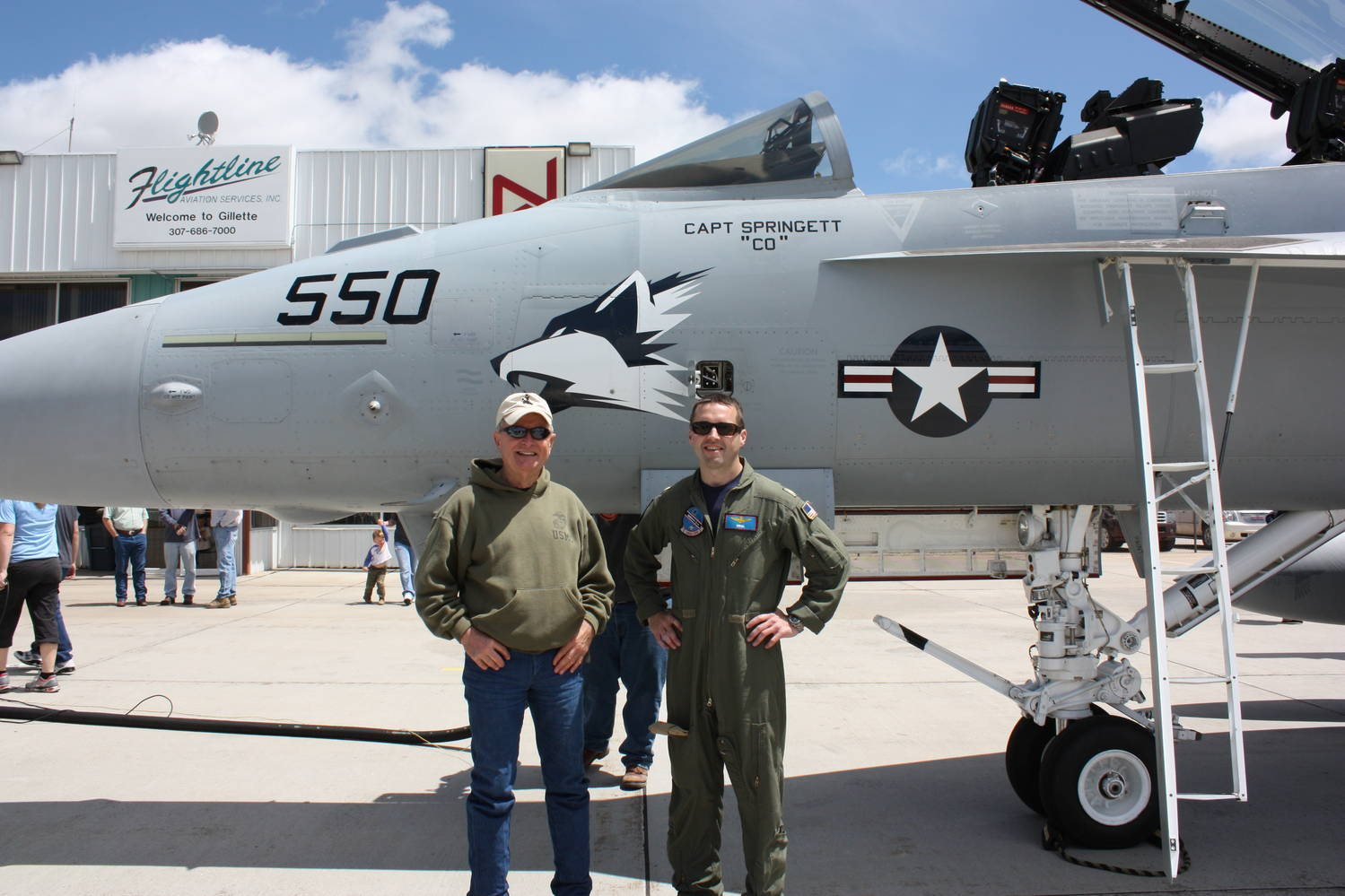 F/A-18 Pilot Gives Virtual Flyers Highly Detailed