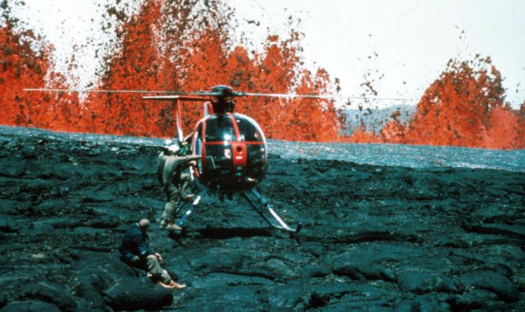 Hawaii Volcano Eruption Volcano Mauna Loa On YELLOW ALERT
