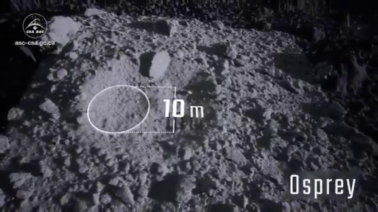Asteroid Bennu: NASA's sampling spacecraft scans surface