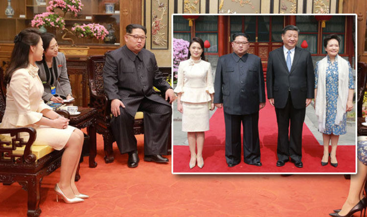 kimg jong un wife wife ri sol ju joins north korea leader for visit