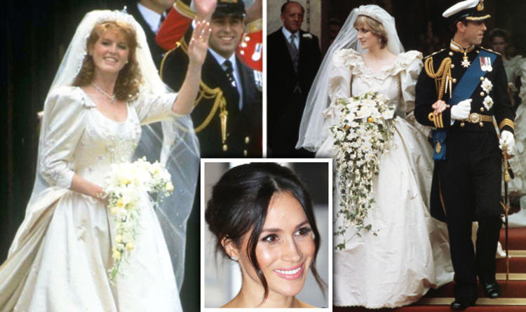 Royal Wedding dress: How Sarah Ferguson\'s dress compared to Princess ...