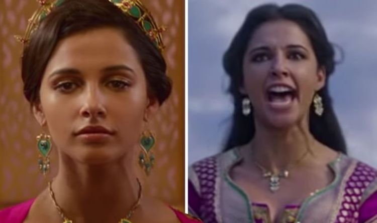 Aladdin Major Princess Jasmine Change Revealed By Naomi Scott Films Entertainment Express Co Uk