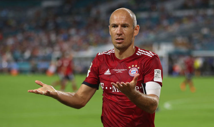 6664e988a Real Madrid news  Bayern Munich ace Arjen Robben makes  best decision   Bernabeu admission