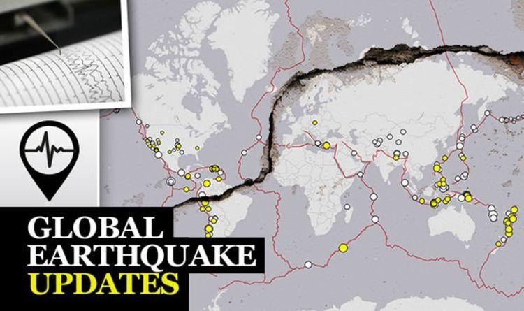 Turkey Earthquake Map Where Has 5 7 Quake Hit In Turkey World
