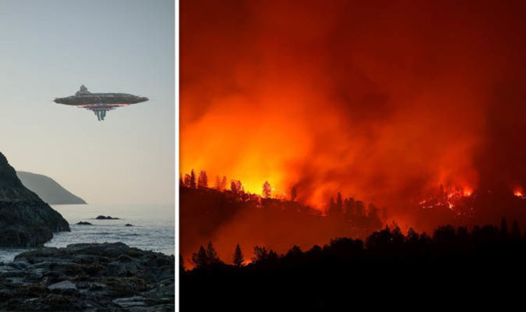 California Fire Laser Conspiracy Terrorism Illuminati Or Aliens
