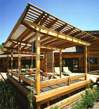 Building A Roof Over A Deck Or Patio Hometips