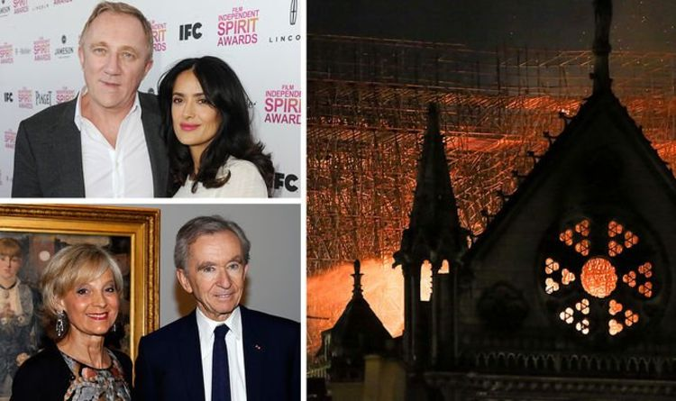 61651bbadd7 Notre Dame fire: Louis Vuitton and Gucci owners donate £260m to rebuild  cathedral