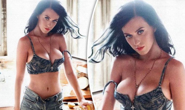 Katy Perry shares boob-baring snap as she googles 'hot' images of