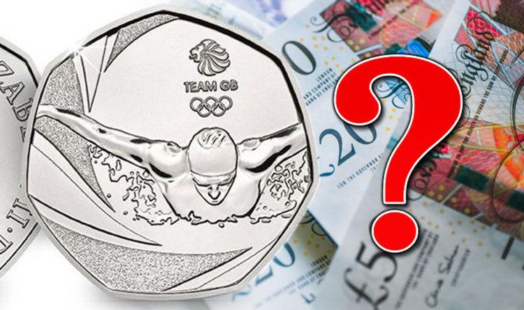Olympic Memorabilia 2016 Team Gb Swimming London 2012 Olympic 50p Coin.