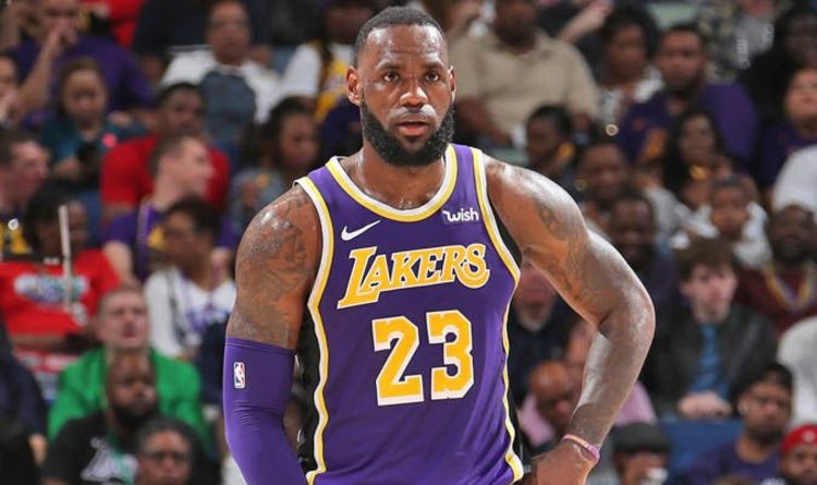 LeBron James lays down challenge to Lonzo Ball over Lakers return in NBA  playoffs battle 348f8d453