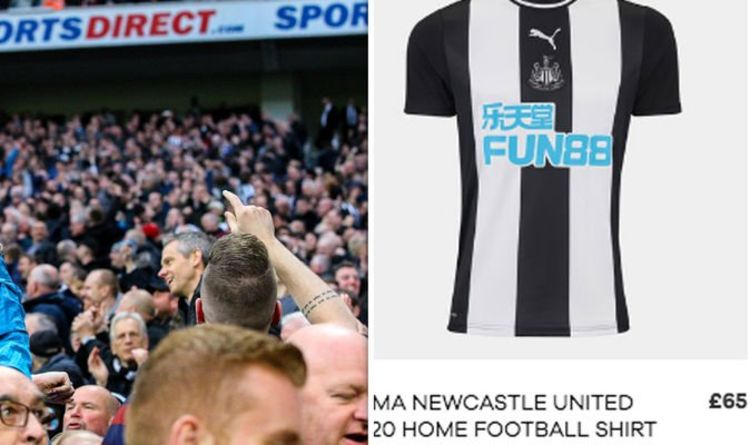 ca5c3637 Newcastle sell most expensive shirt in the Premier League - how do they  compare to rivals?