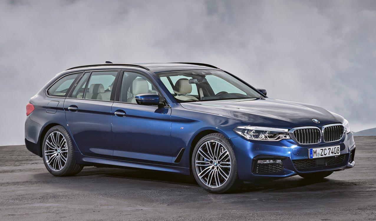Bmw Teases Us With A New 5 Series Wagon
