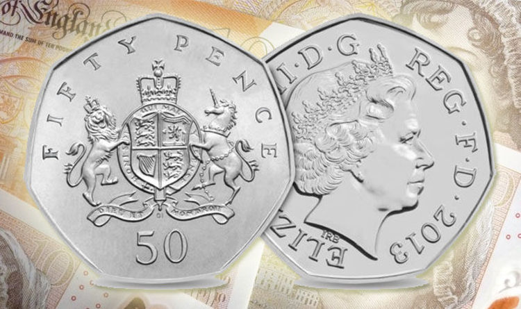 Ebay Rare Christopher Ironside 50p Selling On Ebay For A Whopping