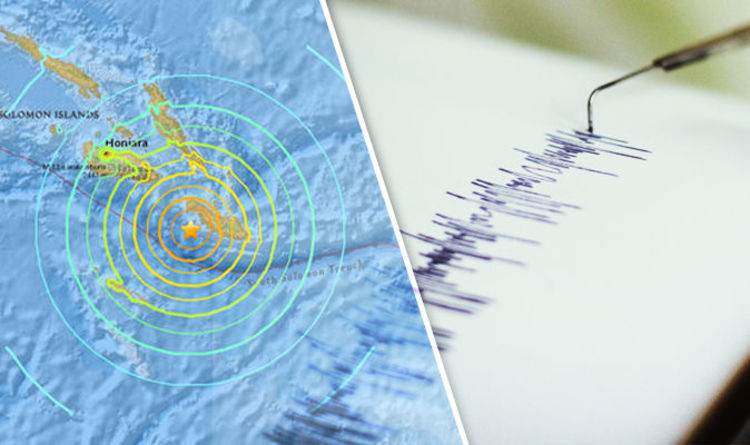 Solomon Islands Tsunami Warning In South Pacific After 77 Earthquake