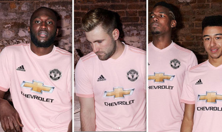 82214583b Manchester United release new  ice pink  kit with staggering price - fans  will be furious