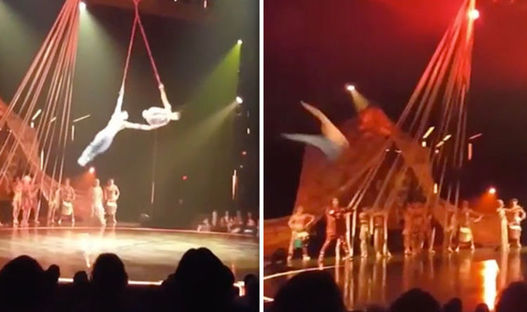 Cirque Du Soleil Performer Plunges To His Death As Act Goes Wrong