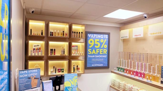 First hospital vaping shops to help smokers kick habit