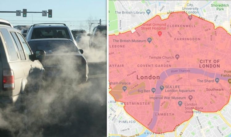 ULEZ check map: How to check which zones in London are affected