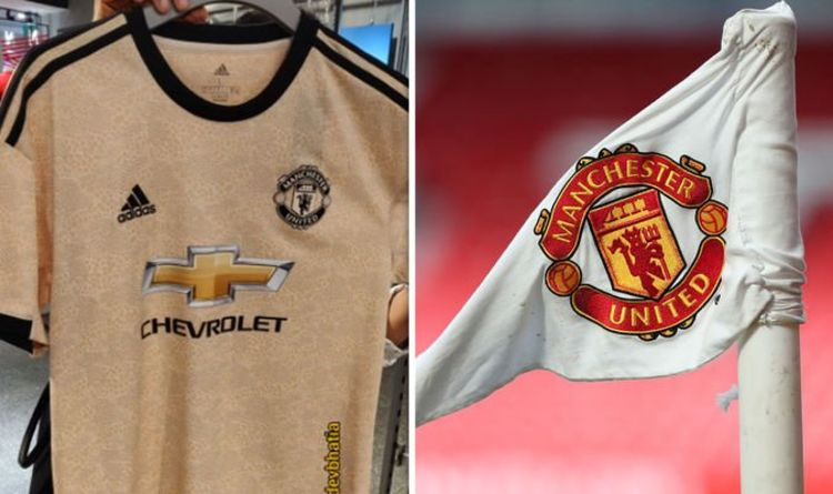 online retailer 9eac3 dd541 Manchester United fans FUME as new Adidas away kit is leaked ...