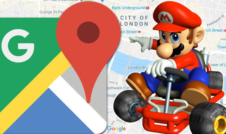 Google Maps Update Marks Super Mario Day Nintendo Hero Now Drives