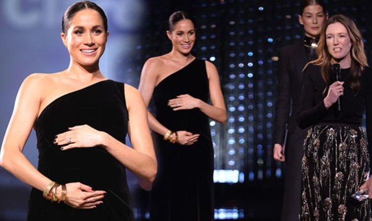 Meghan Markle Breaks Royal Protocol At British Fashion Awards