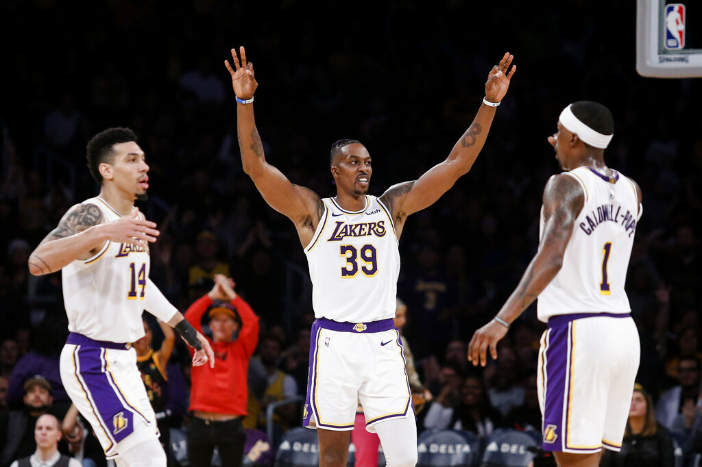 Danny Green And Dwight Howard Name Their All Time Lakers Starting Five