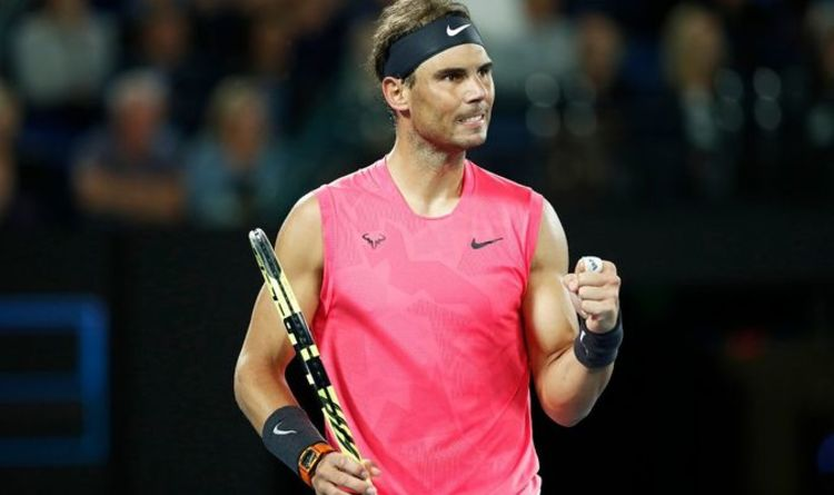 Rafael Nadal Sends Message To Young Guns Trying To End Dominance With Federer And Djokovic Tennis Sport Express Co Uk
