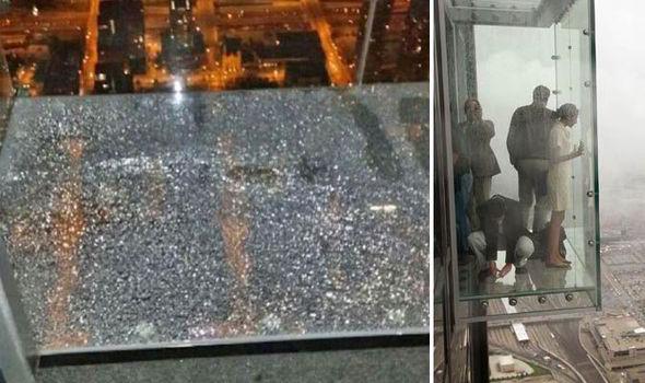 tourist in a glass box