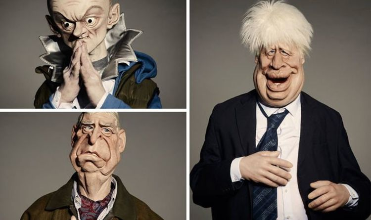 Spitting Image 2020 Puppets Who Are The New Spitting Image