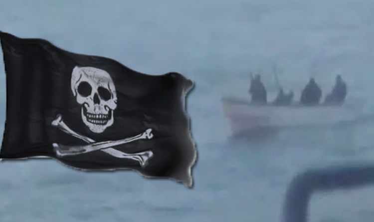 Cruise ship attacked by PIRATES in terrifying video | Cruise