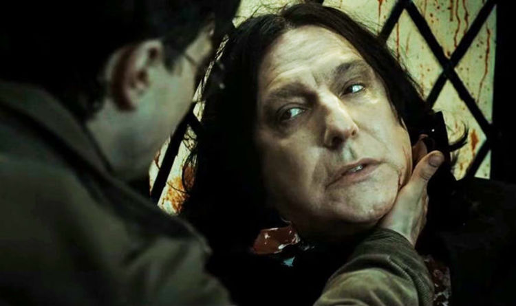 Harry Potter shock: 'Snape did NOT die at the Battle of Hogwarts ...