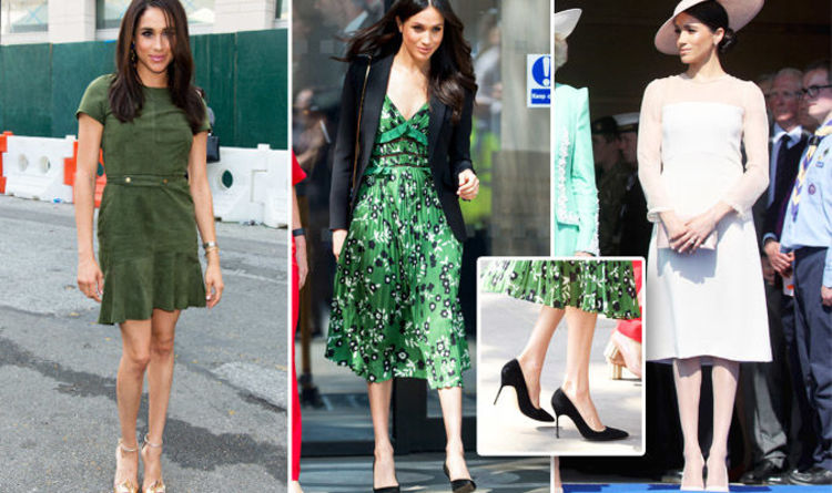 781f7b23bd Meghan Markle tights at Garden Party show  transformation  after breaking  Queen royal rule