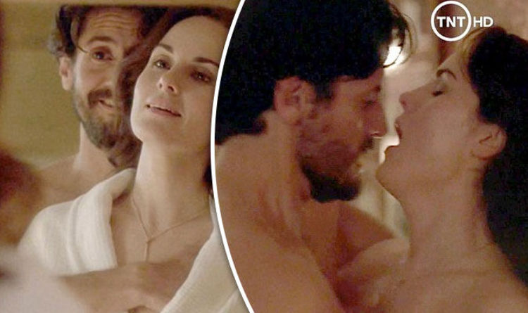 Downton Star Michelle Dockery Has Naked Sex Scene With Juan Diego Botto In Good Behaviour