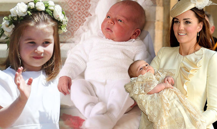739507f53c8 Prince Louis to wear SAME dress as Princess Charlotte and Prince George at  christening