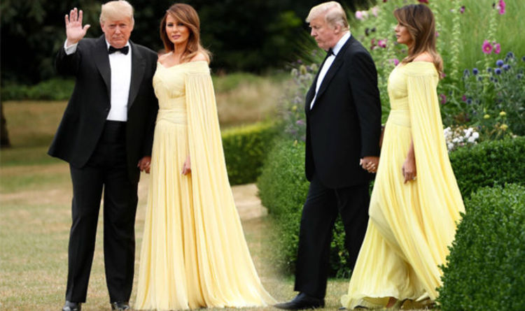 Melania Trump News First Lady And Donald Trump Head To Blenheim