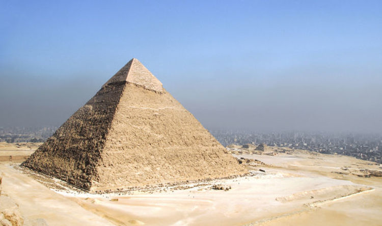 Ancient Egypt: Great Pyramid of Giza coordinates match speed of