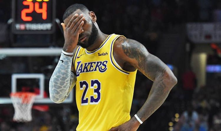 e0726544936 LeBron James injury  Lakers star return date  REVEALED