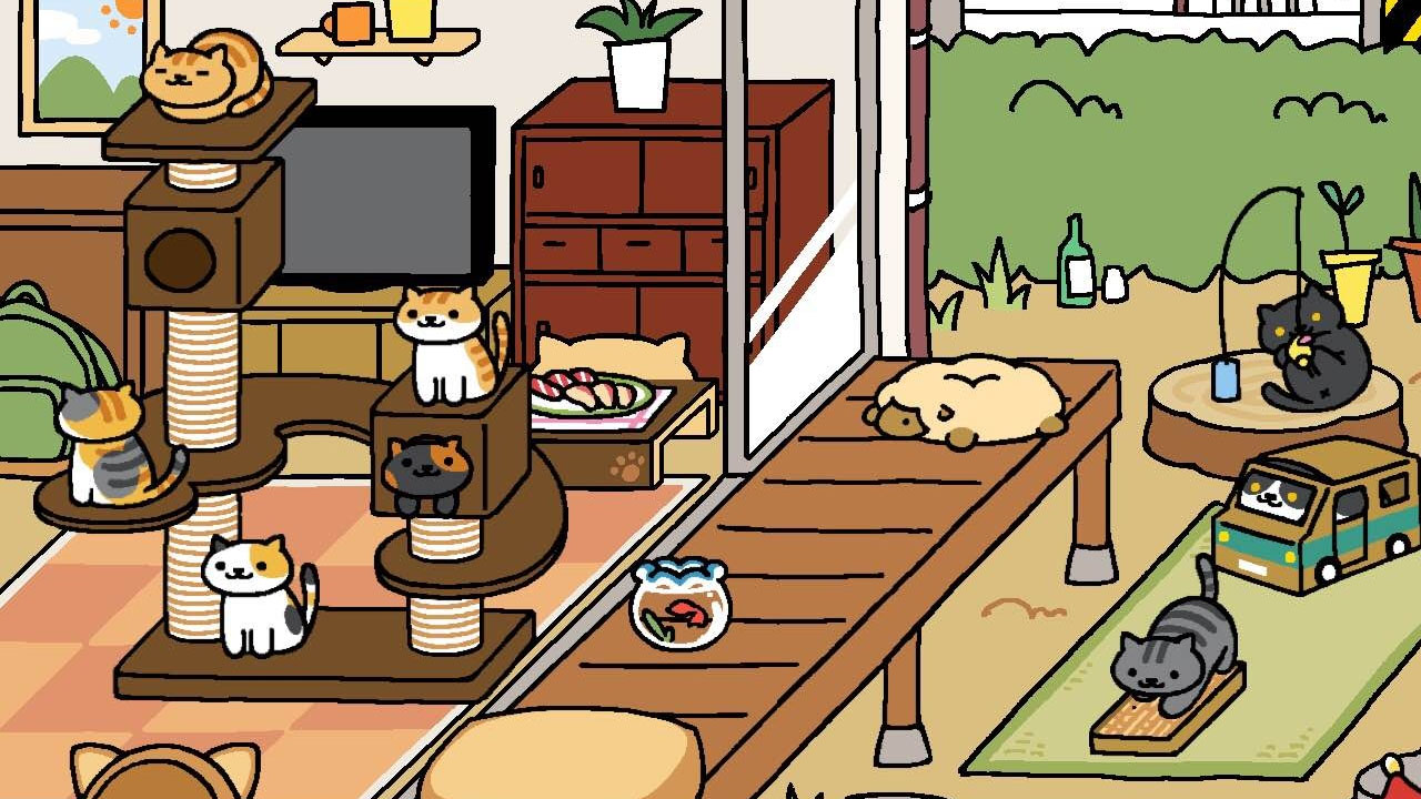 house of neko atsume