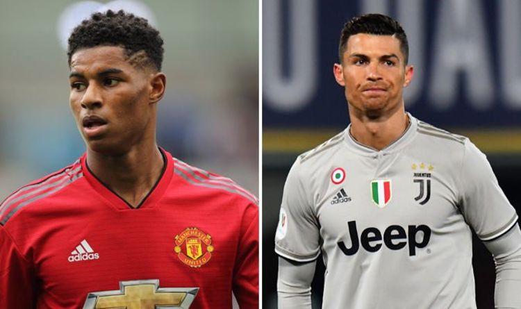 លទ្ធផលរូបភាពសម្រាប់ Rashford vs C Ronaldo