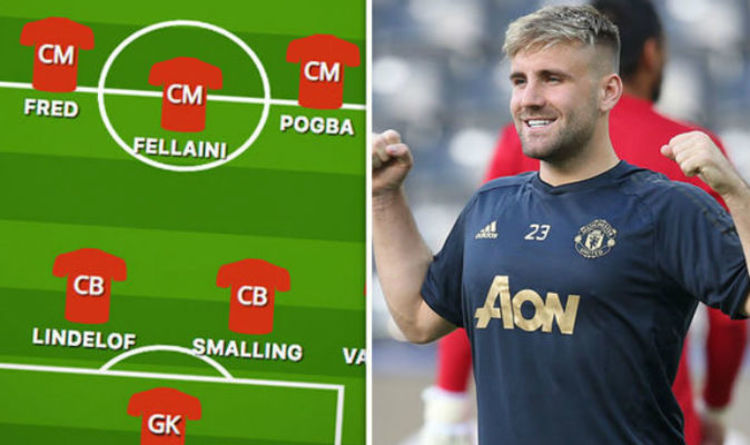 d5bbb579289 Man Utd team news  Predicted 4-3-3 line up to face Wolves TODAY after  Mourinho team hint