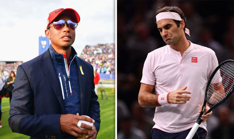Roger Federer reveals he NO LONGER speaks to old friend Tiger Woods - this  is why 1fc34396844
