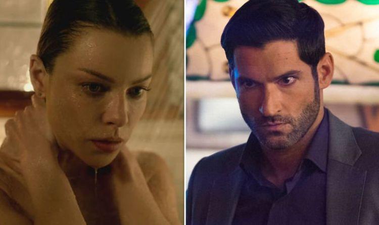 Lucifer Season 5 Chloe Decker Revealed As Pregnant In Shock Theory Tv Radio Showbiz Tv Express Co Uk
