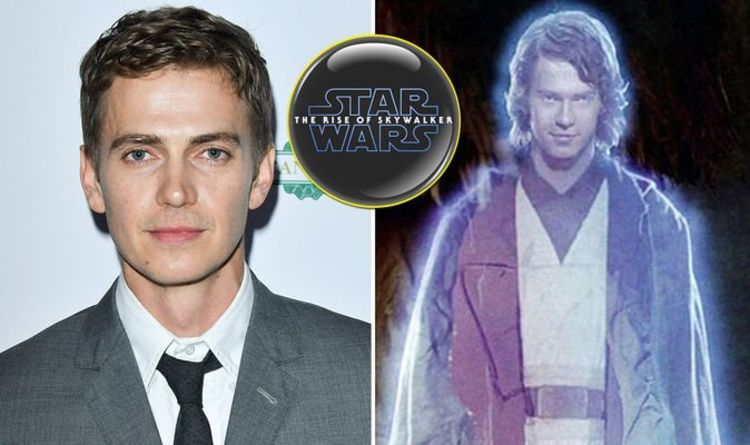 Star Wars 9 Rise Of Skywalker Hayden Christensen Anakin Skywalker Force Ghost Scene Films Entertainment Express Co Uk