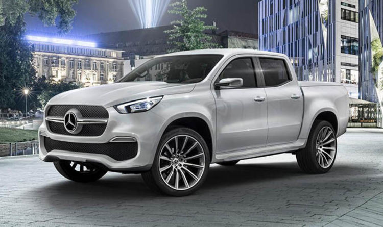Mercedes X Cl 2018 Unveiled Brand New Luxury Pick Up Truck Revealed