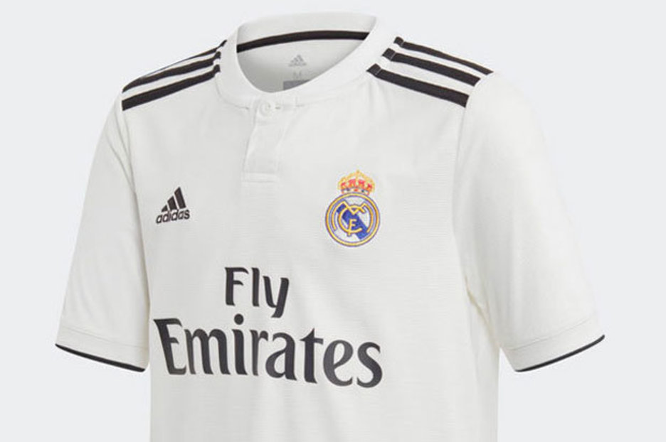 1ab0b75a9 Real Madrid launch two new kits for 201819 season  Check out the new shirts  here - Daily Star