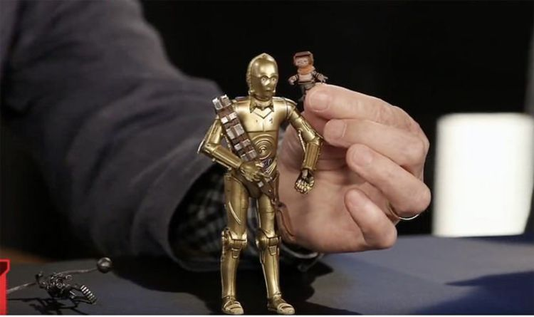Star Wars 9 C 3po Toy Confirms Biggest Threepio Rise Of Skywalker Rumours Films Entertainment Express Co Uk
