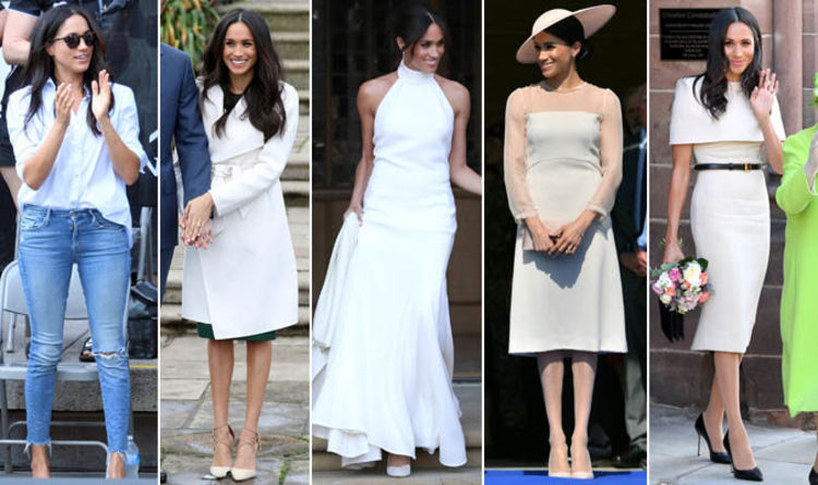 Meghan Markle In Pictures Duchess Of Sussex S Best Fashion Moments