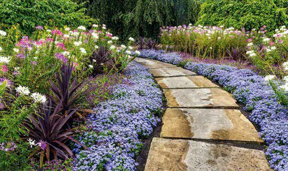 Alan Chmarsh Building Path Garden