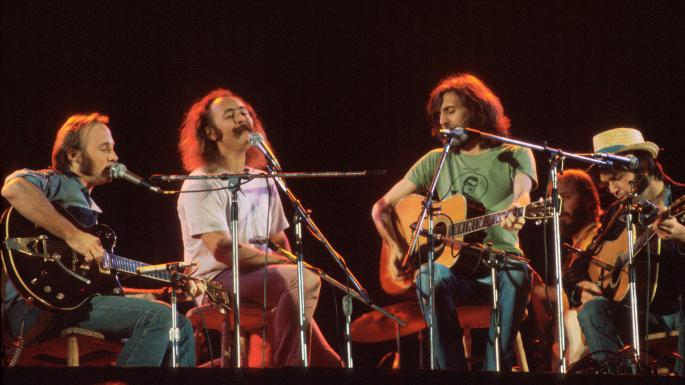 Crosby Stills Nash Young Reviews Two Biographies About Four